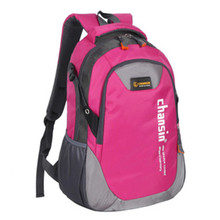 2015 High Quality Waterproof Nylon Women's Backpacks Sport  School Bag Color Block Casual Travel Men Daypack Outdoor Moutaineer(China (Mainland))
