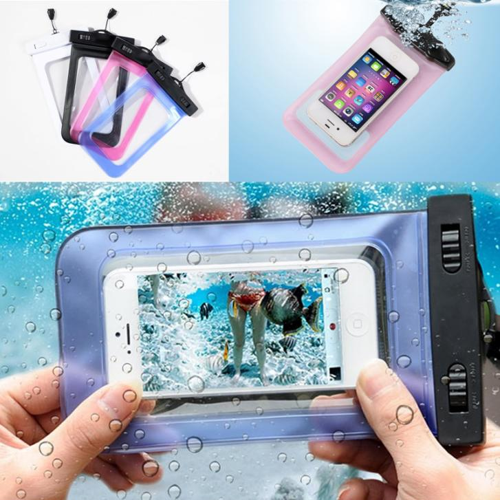 1 pcs NEW Transparent Waterproof Underwater Pouch Bag Dry Case Cover For Mobile Phone(China (Mainland))
