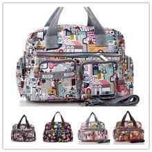 2016 Woman Messenger Bag Travel Sport Waterproof Nylon Hand bag Lady Lesport Beach Tote Shoulder Bags Women Brand Handbag Bolsa