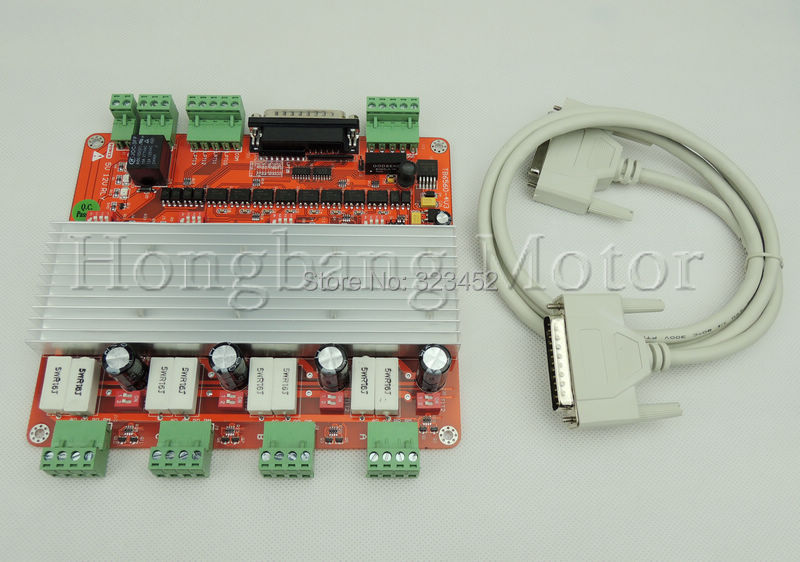 Free shipping Quality Assurance CNC 4 Axis Controller TB6560 3.5A Stepper Motor Driver Board For Mach3 Factory outlets(China (Mainland))