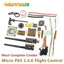Micro PX4 2.4.6 Flight Control Combo Multicopter Quadcopter UAV Drones Flight Control Board