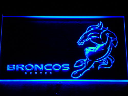 128 Denver Broncos Football Club Bar LED Neon Sign with On/Off Switch 7 Colors to choose(China (Mainland))