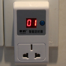 220v Electrical Energy-saving Programmable Timer Plug 24 hours digital timer Switch socket security interval timer(China (Mainland))
