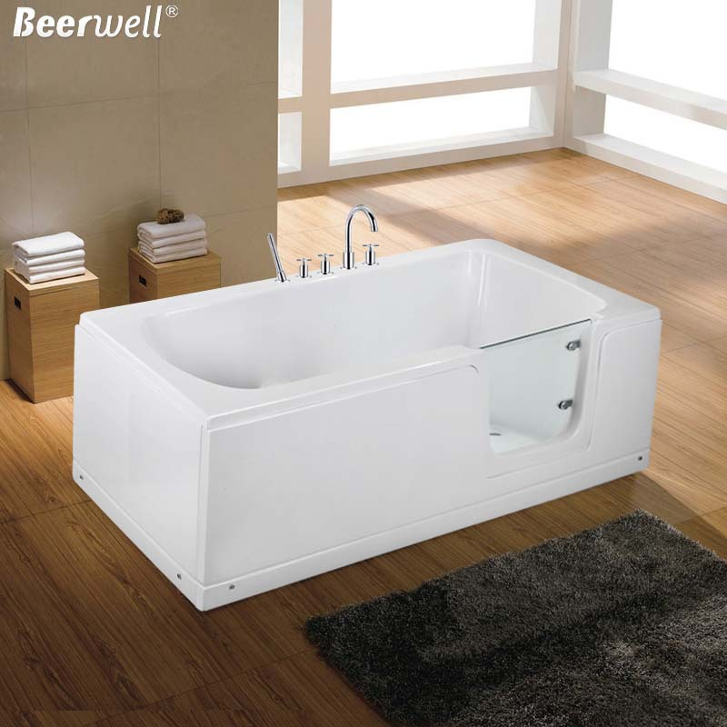 2015 New Walk In Bath Bathtub Acrylic Elderly People With Disabilities Separa