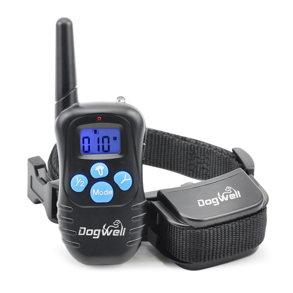 Remote Training Rechargeable and Rainproof Dog Training Collar for 1 dog 100 Level Vibration and Shock(China (Mainland))