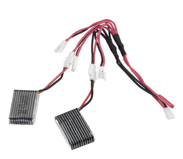 5 in 1 Balance Charging Cable Syma X5C Battery for SYMA 2.4G X5C 6 Axis Gyro RC Quadcopter helicopter(China (Mainland))