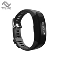 TTLIFE Brand Smart Bracelet Fitness Bluetooth Wristband Heart Rate Monitor Call Reminder Touch OLED Screen Display