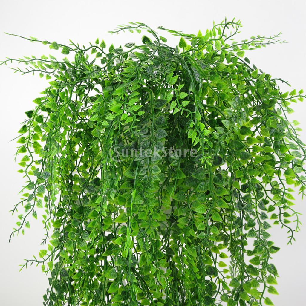 1Bunch 75cm Artificial Weeping Ivy Vine Plants Outdoor Indoor Hanging Decor