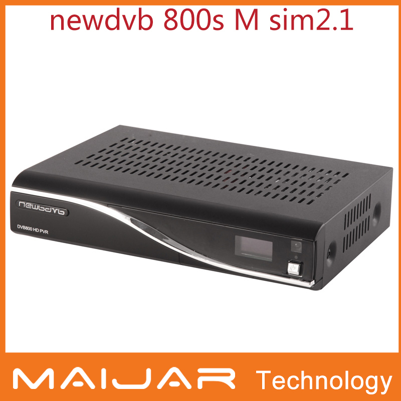 1pcs free shipping newdvb dm800s Enigma 2 dvb-s2 card sharing M tuner SIM2.1 dreambox800 OEM digital satellite receiver(China (Mainland))
