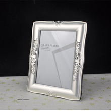 Good Quality Luxury Silver Plated Metal Photo Frame Picture Frames MPF003(China (Mainland))