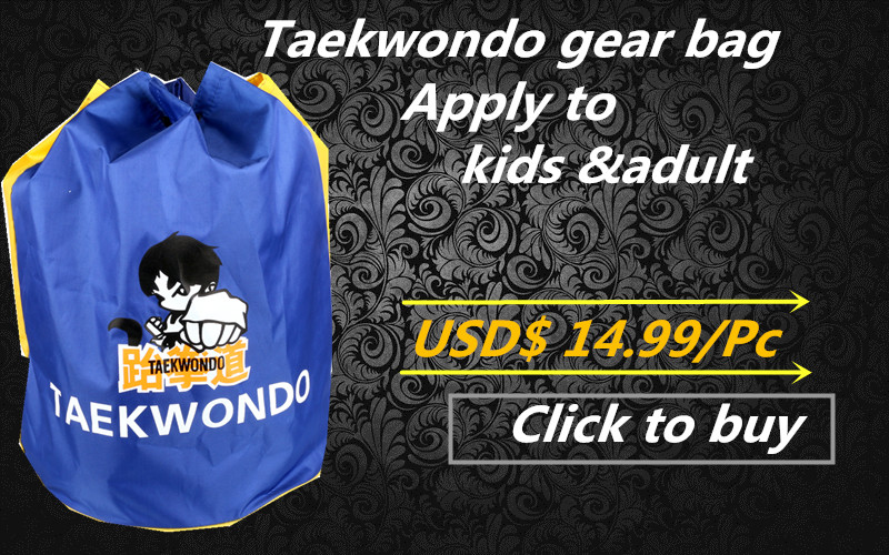 Cheap price Taekwondo Shoulder Bags Waterproof package bag Gym Sports Fashion Super Soft Wushu Kongfu Karate Training Male bag(China (Mainland))