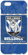 NRL Canterbury Bulldogs Hard Mobile Phone Accessories Back Cover For iphone 4 4S 5 5S SE 5C 6 6S Plus For iPod Touch 4 5 6 Case