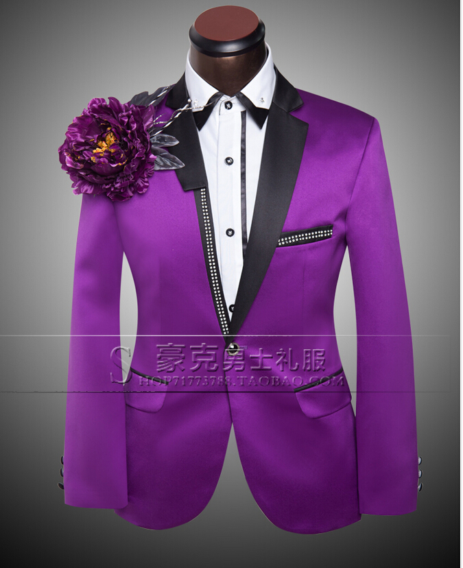 Purple Wedding Dresses And Suits : Purple dress pants men reviews ping