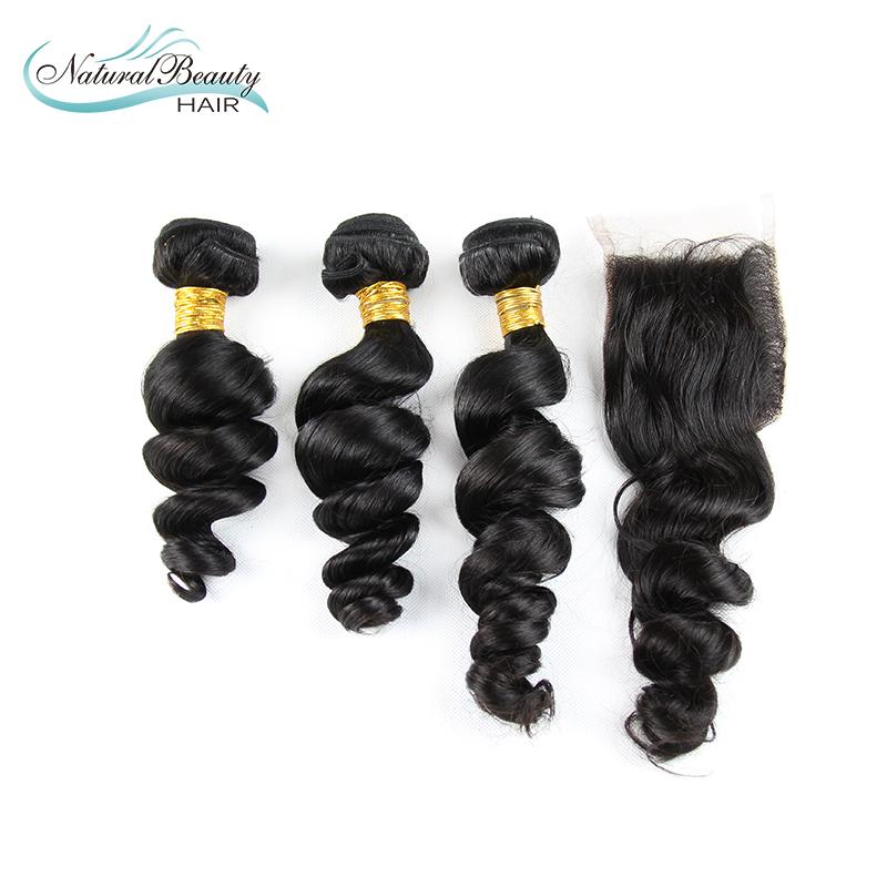unprocessed mongolian straight virgin hair mongolian loose wave hair  human hair weave extensions<br><br>Aliexpress