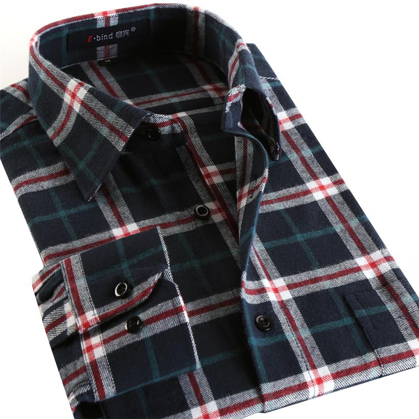 Мужская рубашка 100% 2016 Slim Fit