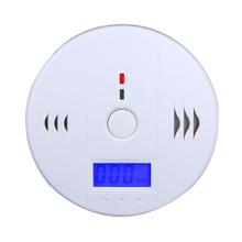 High Sensitive LCD Carbon Monoxide Detector Tester Fire Alarm Monitor Smoke CO Sensor Detector For Home Security Safety(China (Mainland))