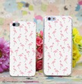 1089W Fantastic Flamingos Transparent Hard Case Cover for iphone 6 6s plus 4 4s 5 5s