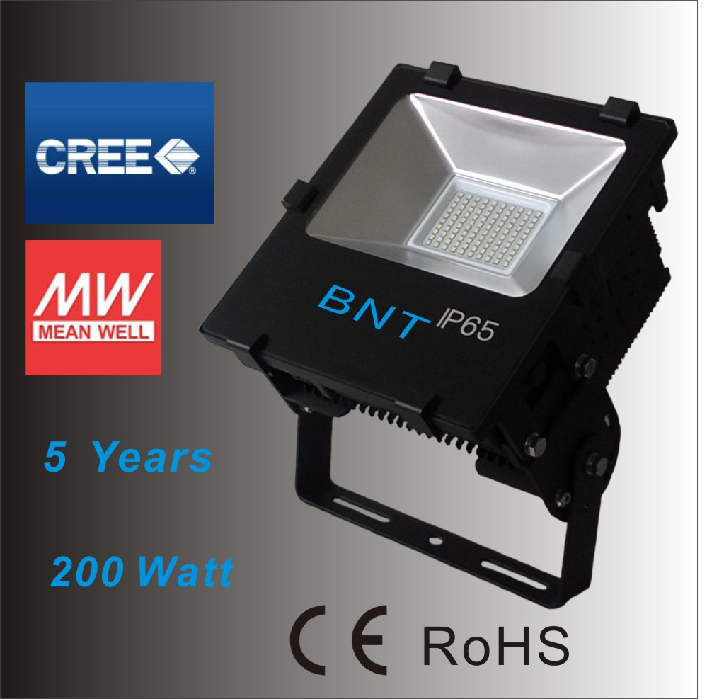 CREE Chip Mean Well diver Outdoor Lighting Lamp Sale PF0.98 50W 70W 100W 150W 200W 400W 500W 1000W Waterproof Led Flood Light(China (Mainland))