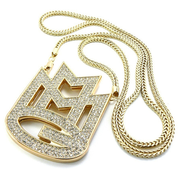 Yl european style bling bling hip hop jewelry colar de for Bling jewelry coupon code