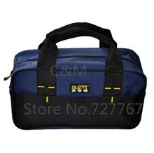New design 300g retail men tool bag Durable and Portable Tool bags Factory price length 34 cm 600D oxford(China (Mainland))