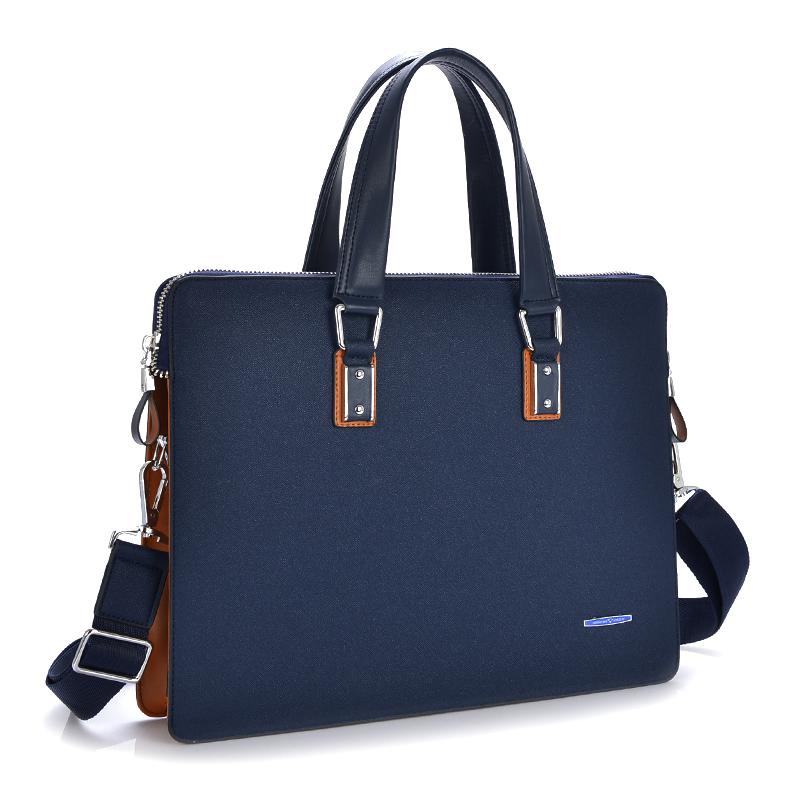 Men bag genuine leather handbag men briefcase leather laptop 14 inch Men Messenger Bags Computer Laptop Handbag Bag(China (Mainland))