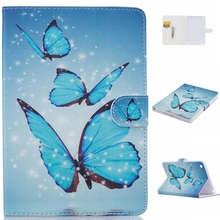 Cartoon Cute Full Body Hybrid Case with Smart Magnetic PU Leather [Kickstand] [Card Slots] Flip Wallet Cover for iPad Mini 1 2 3(China (Mainland))