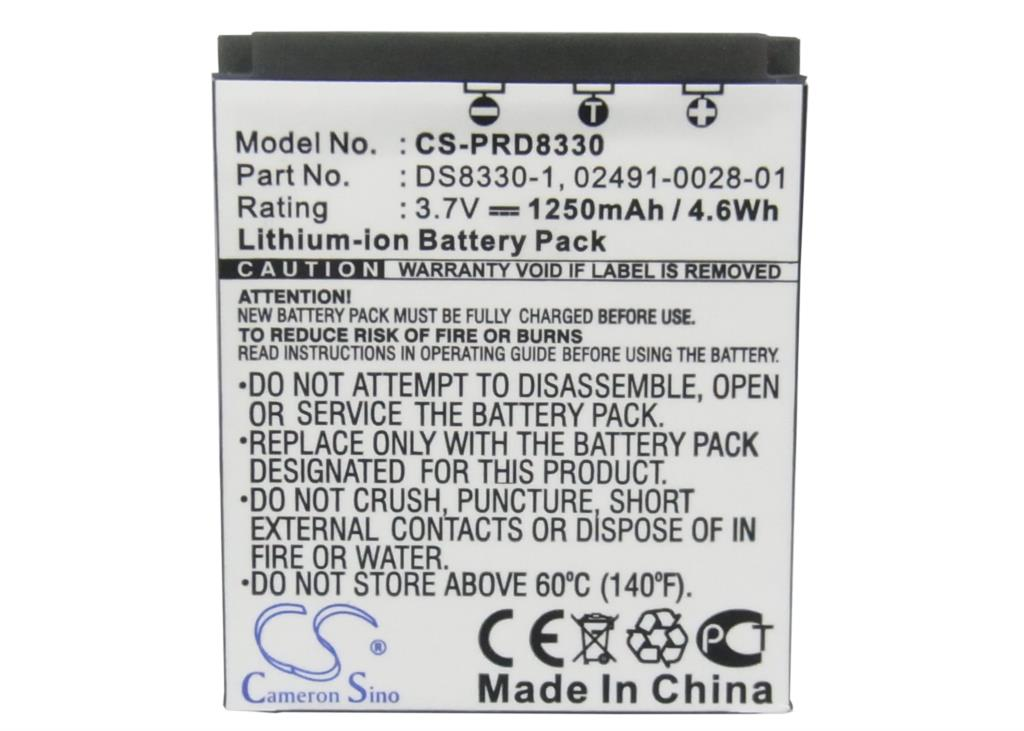 02491-0028-01 Battery For ROLLEI For Compactline 150, For Prego 8330, DP8300, DP8330, RCP-7430XW, RCP-8427XW, RCP-8527X(China (Mainland))