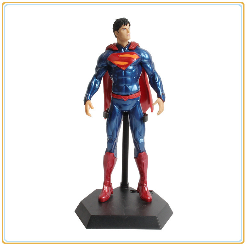 12 Anime Movie Superman Action Figure painted Super man doll PVC Collectible model Toy Opp packing<br><br>Aliexpress