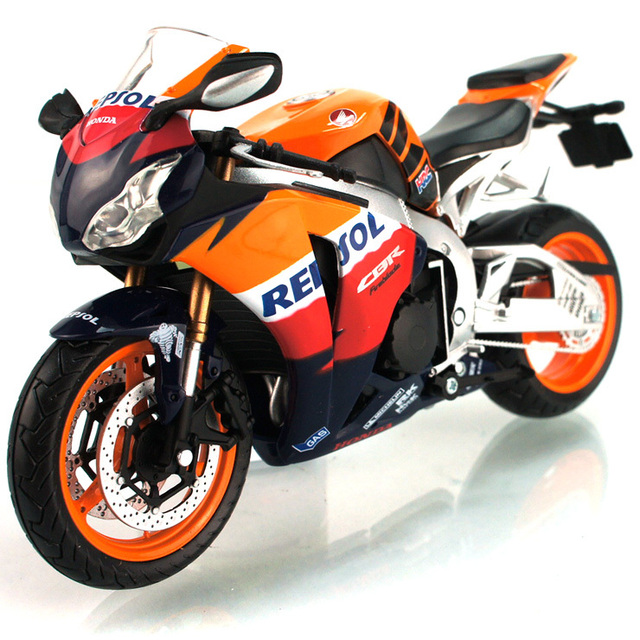 2013 HOT ! Junki 1:12  HONDA CBR 1000RR  With suspension Alloy super motorcycle Model ! freeshipping !  5colors to choose