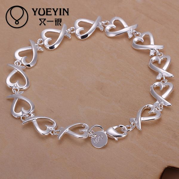 H177 Free Shipping 925 sterling silver bracelet stardust 925-sterling-silver jewelry(China (Mainland))