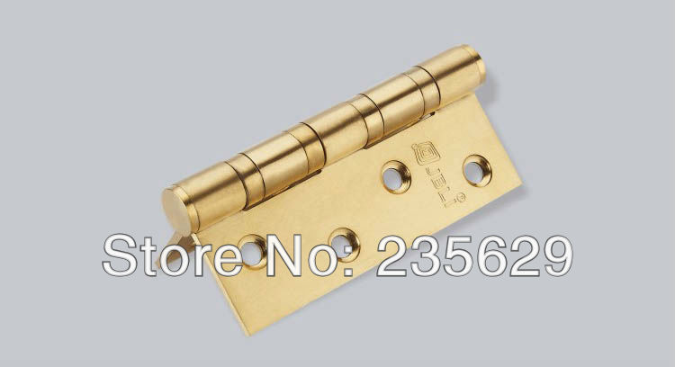 Free Shipping, 304 Stainless Steel Hinges for timber door / Metal Door, 103mm*71mm, Easy Installation,Low noise Hinges(China (Mainland))