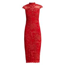 Coniefox 32119 Women Birthday avondjurk Formal Bridesmaid Banquet red caftan vestidos de festa coolie Dress abiye gece elbisesi(China)
