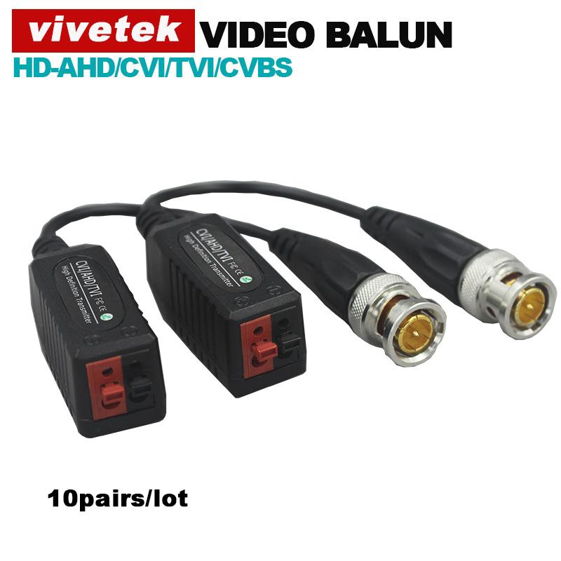 10pairs/lot HD Video Balun passive Transceivers UTP Balun Compitable with AHD/CVI/TVI/CVBS signal(China (Mainland))