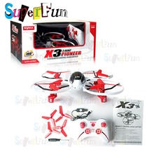 Strongly recommended Syma X3# 2.4G 360 flip stunt UFO Gyro 4-Axis RC Quadcopter(RTF). Free Shipping.