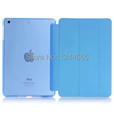 Folding Cross Pattern Leather Smart Case iPad Mini Cover Back Stand 1 2 3 Multi-Color - YHT CASE STORE store
