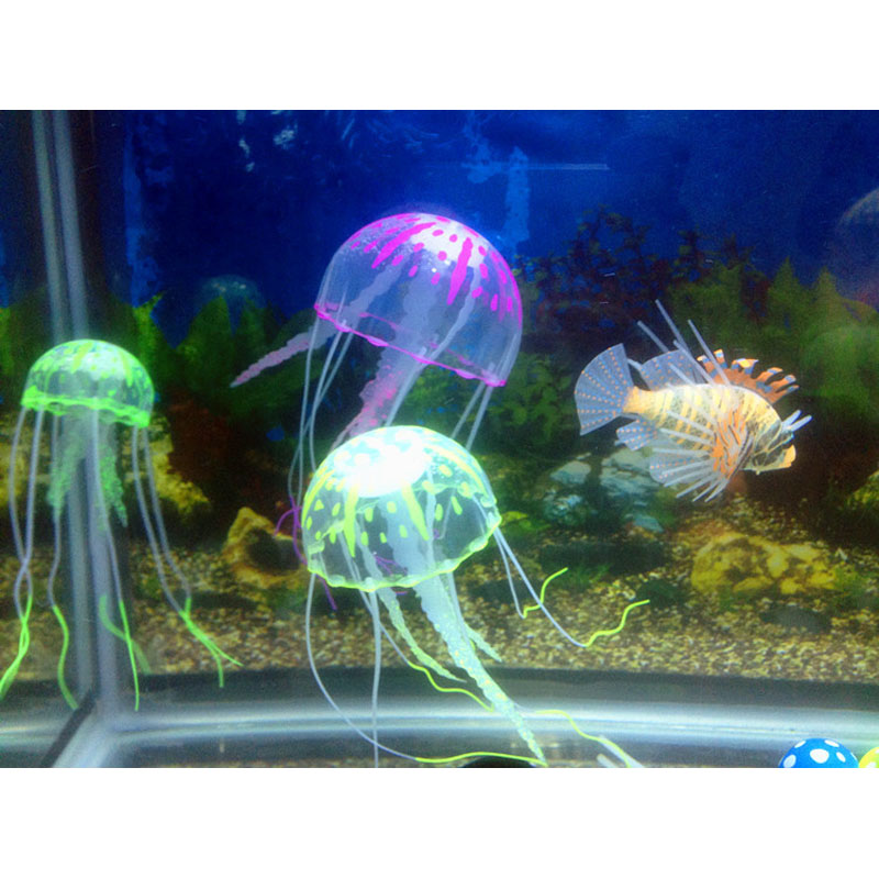 Online buy wholesale large jellyfish from china large for Tall fish tank decorations