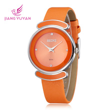 Moda marca Skone Ladies Watch mujeres Casual Luxury Watches moda correa de cuero relojes le83