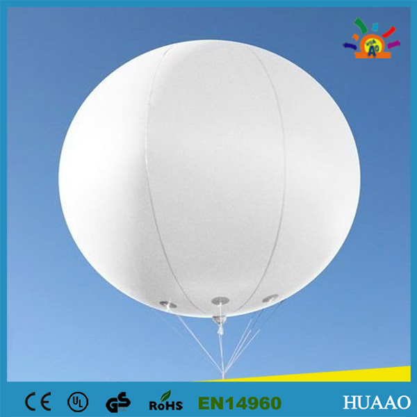 Free shipping 5pcs 3m/10ft inflatable balloon sky balloon helium balloon for advertising(China (Mainland))