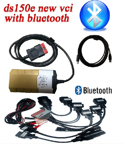 Multi-language New VCI cdp pro plus LED 3 in 1 with keygen software bluetooth autocom cdp pro DS150E VCI with full set car cable(China (Mainland))