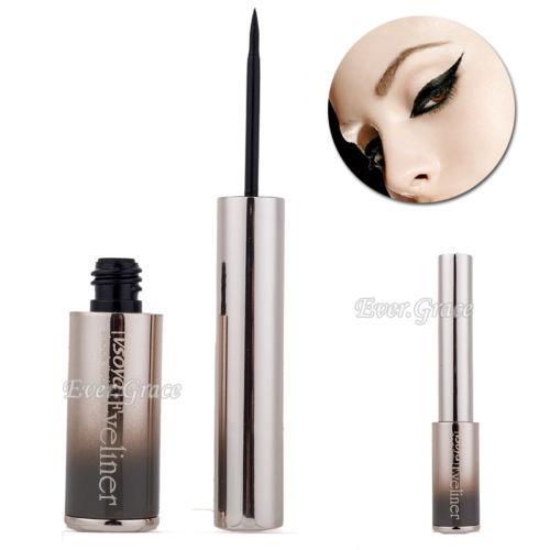 Maquiagem delineador preto liso líquido lápis de olhos lápis à prova d ' água cosméticos