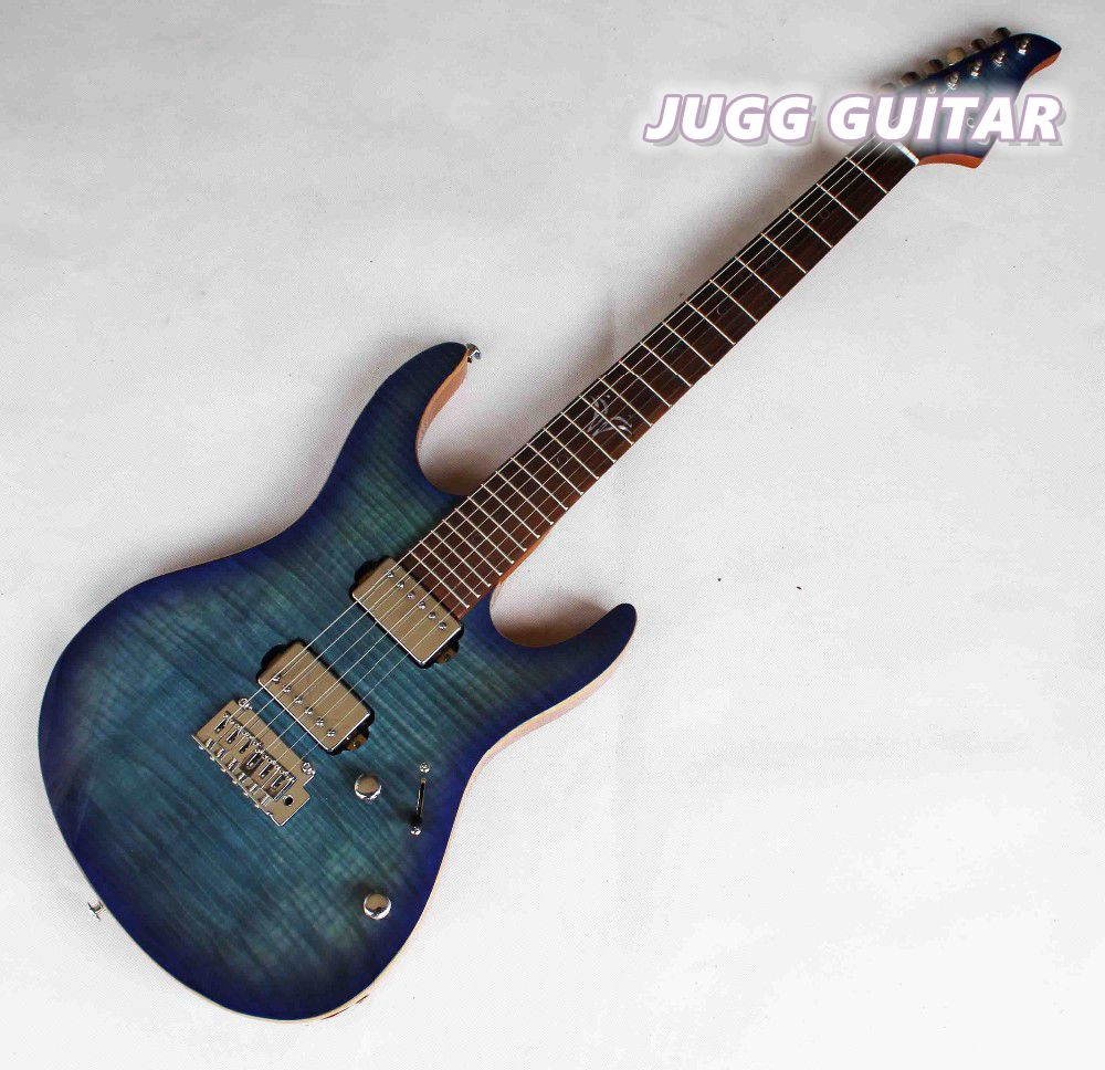 Black Friday Free shipping,Hot sales,Suhr electric guitars, .blue tiger stripe,high quality, Real photos showing,sales promotion(China (Mainland))