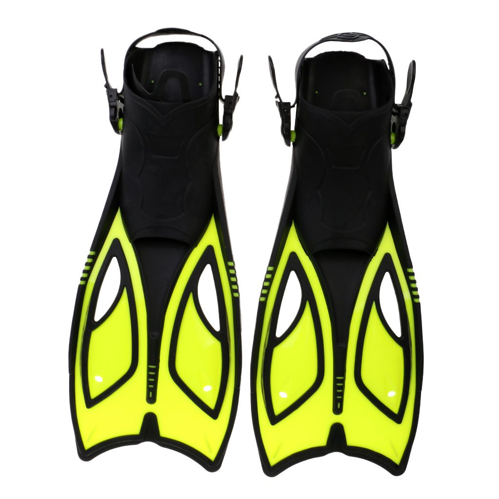 Professional Scuba Snorkel Equipment Swimming Fins Flippers Adjustable Underwater Sports Diving Equipment US 3-13