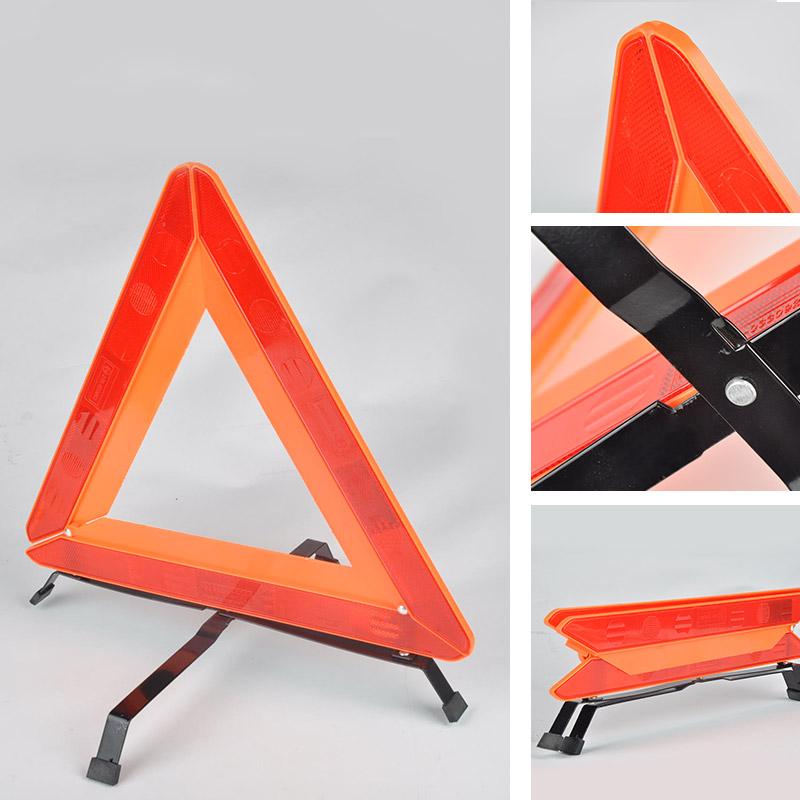 New 2016 Car Reflective emergency tripod Parking warning aircraft Road warning signs Emergency folding Warning Triangles(China (Mainland))