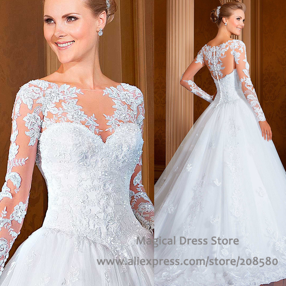 Princess Wedding Gowns With Bling - Wedding Guest Dresses