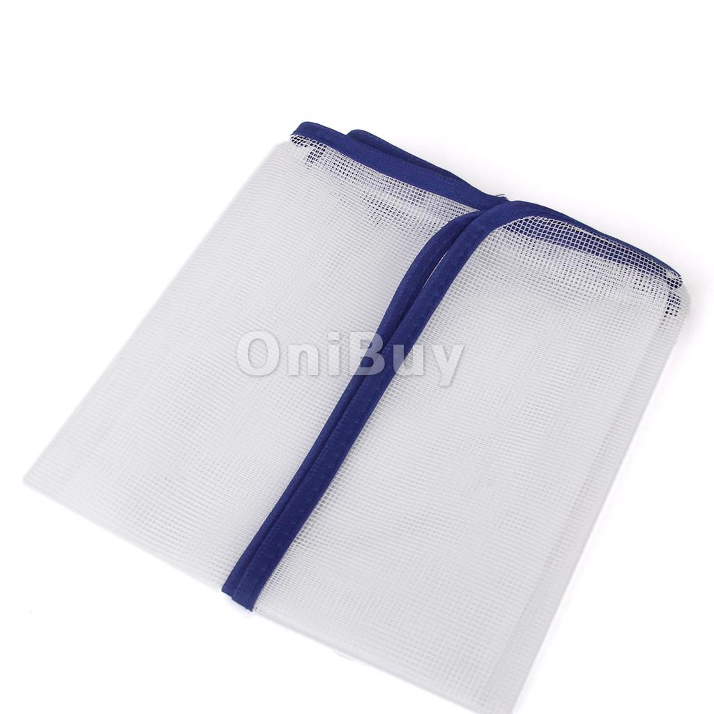 New Hot Sale Household Mesh Folding Ironing Protection Cloth Cover Kit Home Using Ironing Boards 40 x 90 cm White Free Shipping(China (Mainland))
