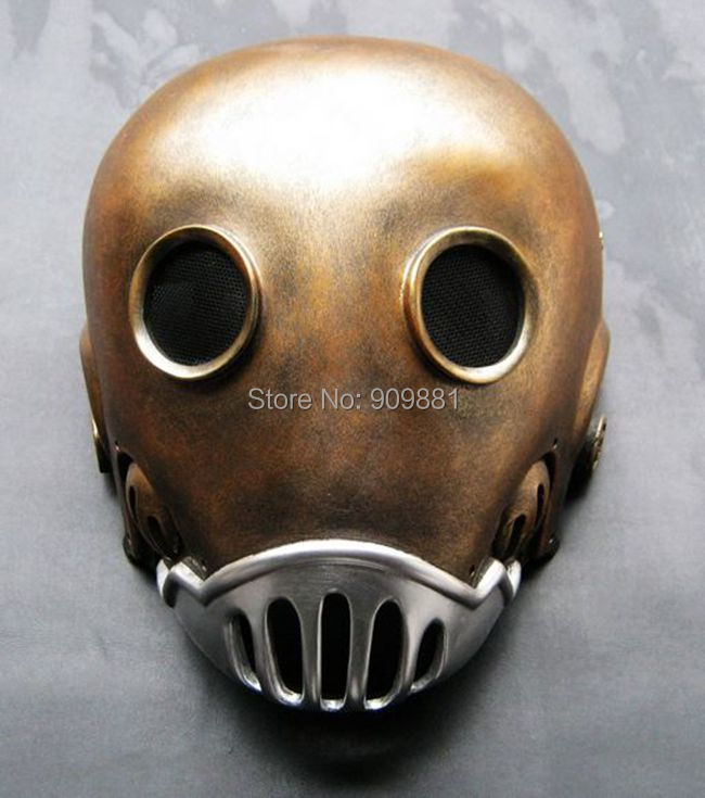 New Halloween Hellboy Movie Cosplay Masquerade Kroenen Nazi face Mask Adult Size Head Prop The Clockwork Man Masks(China (Mainland))