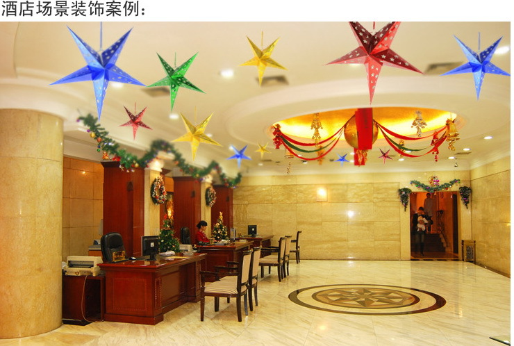 2016!!HOT Sale!! New Christmas Tree Ornament Party Hanging  ~ 085417_Christmas Decoration Ideas For Office Ceiling