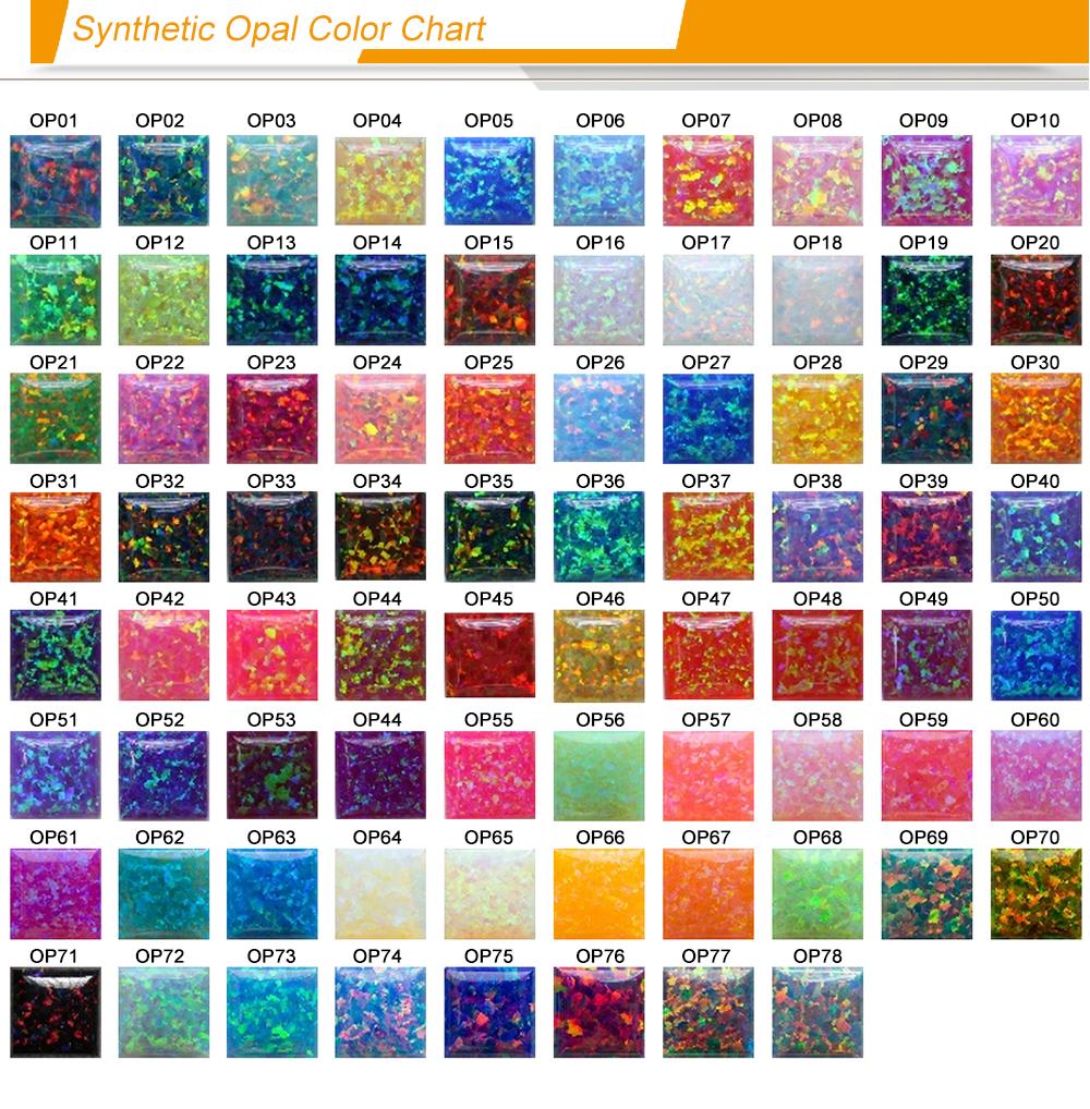 opal color chart