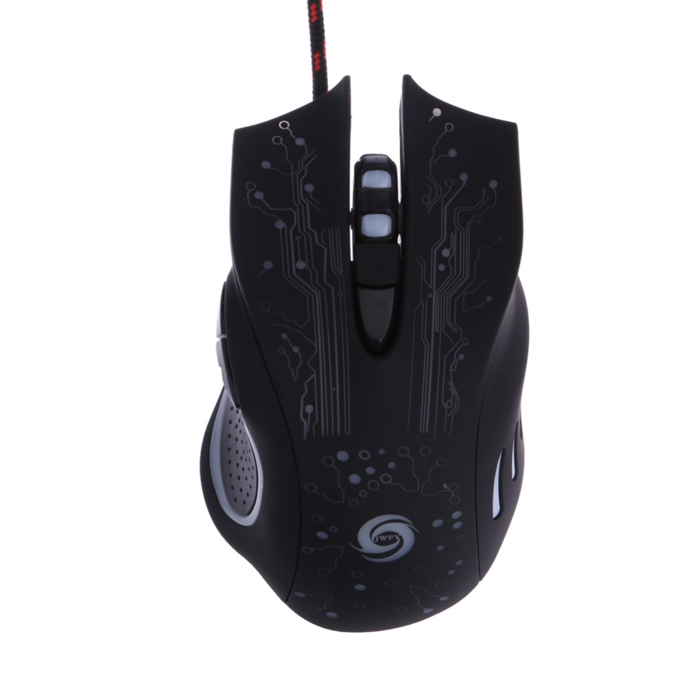 3200DPI LED Optical 6D USB Wired Gaming Mouse Game Pro Gamer Mice For PC