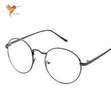 Newest Round Eyeglasses Retro Glasses Frame Clear Lens Eyeware Women Men Optical Myopic Brand Vintage Reading oculos de grau RQ2
